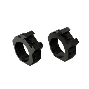 ohhunt 34mm or 35mm Diameter 2PCs Medium High Profile Standard Picatinny Weaver Scope Rings Tactical Hunting Sport Mounts
