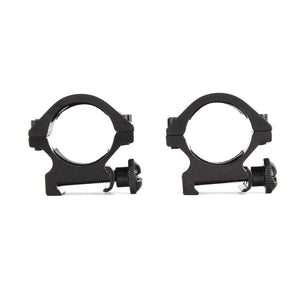 "ohhunt 25.4mm 1"" 2PCs Low Profile 20mm Picatinny Weaver Scope Mount Rings"