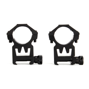"ohhunt New Style Hunting Scope Mount Accessories 25mm 1""/2PCs Universal High Profile 20mm Picatinny Weaver Scopes Rings"