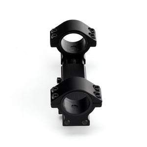 ohhunt 25.4mm 30mm Hunting Airgun Rifle Scope Rings Zero Recoil Mount High Profile Fits Picatinny Weaver Rail with Stop Pin