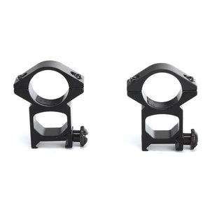 ohhunt 25mm 1 inch 2PCs High Profile Picatinny Weaver Rings Rifle Scope Rails Mount for Flashlight Hunting Tactical Accessories