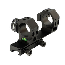 Load image into Gallery viewer, ohhunt 25.4mm 30mm Offset Bi-direction Picatinny Weaver Rings Scope Mount w/ Side Rail Angle Cosine Indicator Kit and Bubb Level
