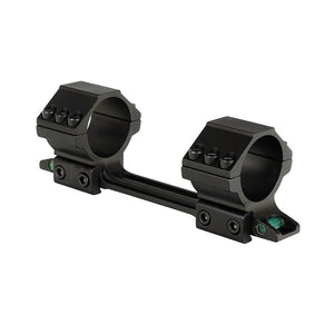 ohhunt Medium Profile Bi-direction 11mm Dovetail Rifle Scope Rings Hunting 25.4mm 30mm Scope Mount with Two Bubble Level
