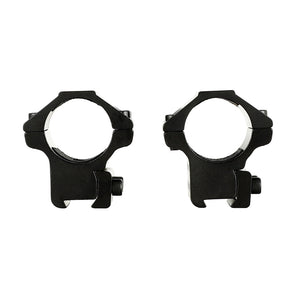"ohhunt 25.4mm 1"" 2PCs Med Profile Airgun Rings with Stop Pin 11mm Dovetail Rifle Scope Mount Rings Hunting Tactical Accessories"