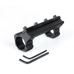 ohhunt 12cm Integral Mounting 25.4mm 1 inch High Profile Scope Rings Mounts for 11mm Dovetail .22 Airgun Rail with Stop Pin