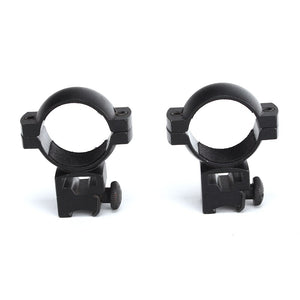 ohhunt 30mm 1.18 Inch Diameter High Profile 11mm Dovetail Style 3/8th Airgun Rings Hunting Rifle Scope Mount Ring