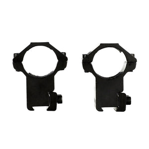 "ohhunt 2PCs 25.4mm 1"" High Profile Airgun Rings with Stop Pin Dovetail Rings 11mm Rifle Scope Mount Rings Hunting Accessories"