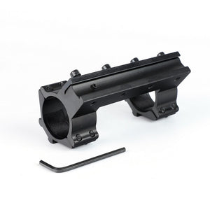 ohhunt 10cm High Profile 11mm Dovetail .22 Airgun 30mm Rings with Stop Pin 20mm Rail For Hunting Tactical Rifle Scope Mount