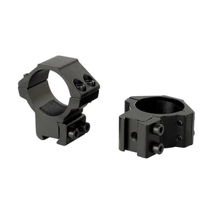 ohhunt 30mm 2PCs Med Profile Airgun Rings with Stop Pin 11mm Dovetail Rifle Scope Mount Rings Hunting Tactical Accessories