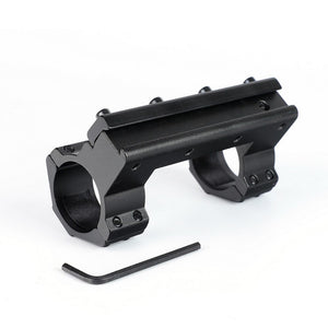 ohhunt Long 10cm High Profile 11mm Dovetail .22 Airgun 30mm Scope Rings with Stop Pin For Hunting Tactical Rifle Scope Mount