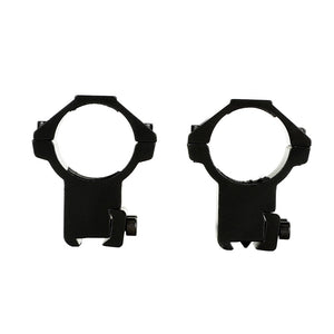 ohhunt 30mm 2PCs High Profile Airgun Rings w/Stop Pin Dovetail Rings 11mm Rifle Scope Mount Rings Hunting Tactical Accessories