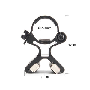ohhunt 1 inch 25.4mm Diameter Rings Barrel Magnet Mounts For Rifle Scope Flashlight Torch Tactical Hunting Accessory