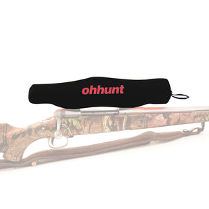 ohhunt Hunting Scope Covers Simple Durable Elastic Neoprene Waterproof Protector Tactical Rifle Scope Cover Accessories