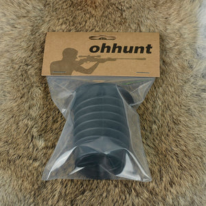 ohhunt Rubber Eye Protector 38mm inner Diameter Rifle Scope Recoil Eye Protector for Hunting Rifle Sight Protect Eyes Eyeshade