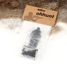 Load image into Gallery viewer, ohhunt Metal Target Modle 80x44mm Black For Hunting Shooting Exercise