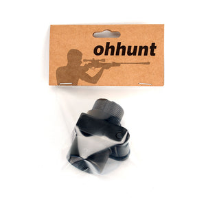 ohhunt Tactical Hunting AK Side Folding Butt Stock Adaptor Mount Aluminum fit AR15 M4 A2 Style Stock