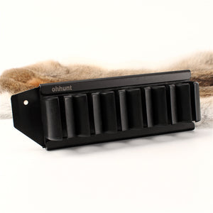 ohhunt Shot*gun Side Saddle Mossberg 500 590 12 Gauge GA 6 Round Shell Carrier Holder Plate Kit Hunting