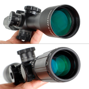 ohhunt FFP 4-14X44 SFIR Side Parallax First Focal Plane Hunting Scope Glass Etched Reticle R\G Illuminated Lock Reset Riflescope