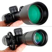 Load image into Gallery viewer, ohhunt LR FFP 4.7-28X50 SFIR First Focal Plane Hunting Riflescope Side Parallax Glass Etched Reticle Lock Reset Scope
