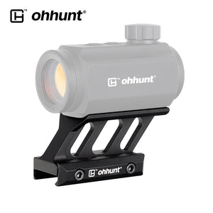ohhunt Super Slim T1 Mount fit T-1 T2 T-2 Red Dot Hunting Picatinny Rail Base