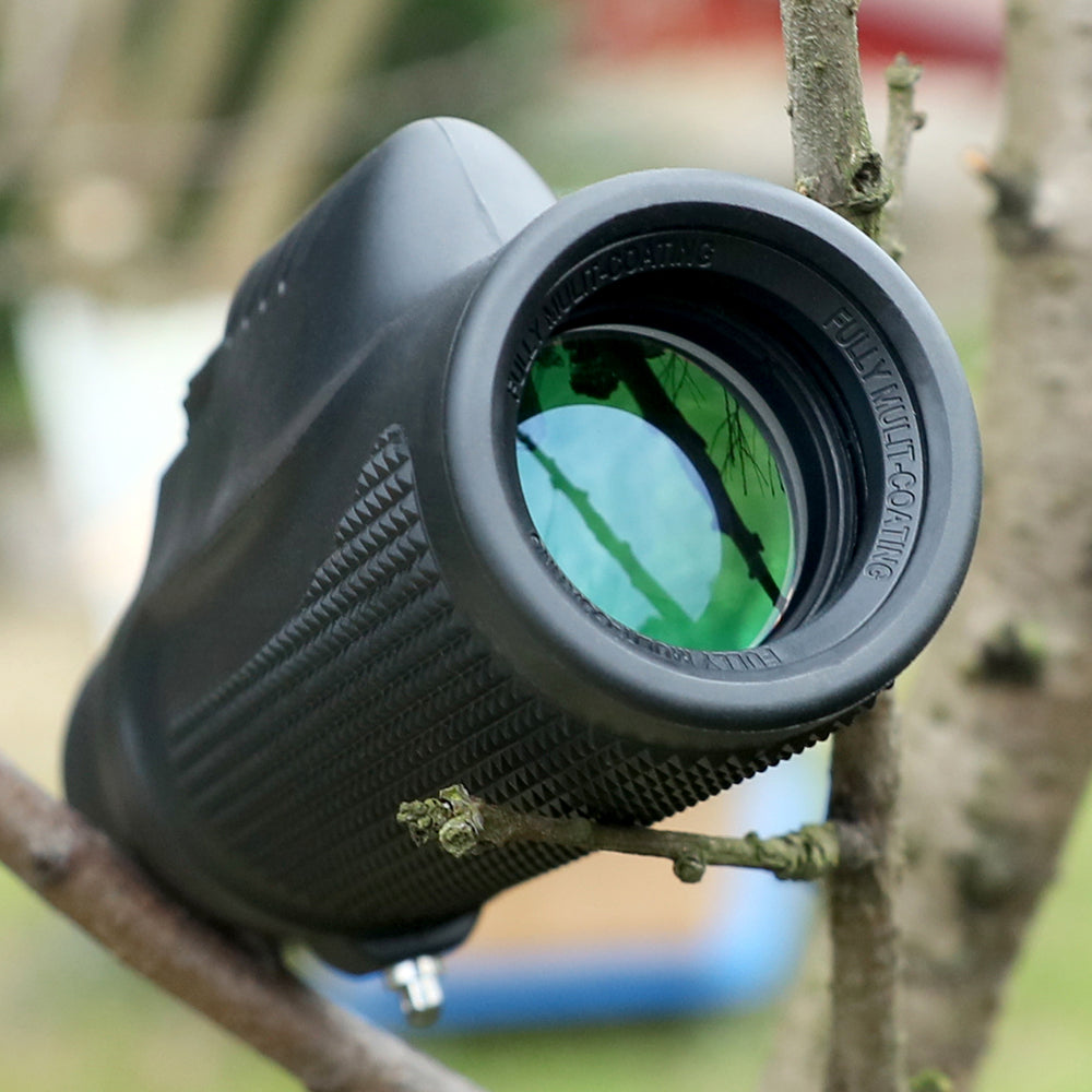 ohhunt 10X32 BAK4 Binoculars Monocular Hunting Optical Waterproof Fogproof Zoom Power Birdwatching Telescope for Hiking Camping