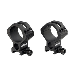 ohhunt 2PCs Riflescope Mount Rings 30mm 34mm 35mm Tube for Hunting Tactical Optical Sights Lasers Flashlights 2 Styles