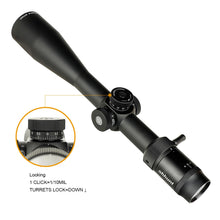 Load image into Gallery viewer, ohhunt Guardian 6-24X50 FFP First Focal Plane Hunting Riflescope Side Parallax Glass Etched Reticle Lock Reset Tactical Scope