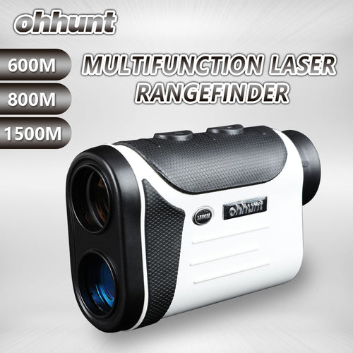 ohhunt Multifunction Rangefinders 8X 600M 800M 1500M Golf Monocular Range Finder Distance Meter Outdoor Measuring