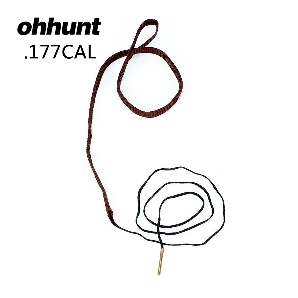 ohhunt Bore Snake .177 CAL GA Gauge Boresnake Shotgun Barrel Bronze Cleaner Kit Hunting Gun Cleaning Accessories