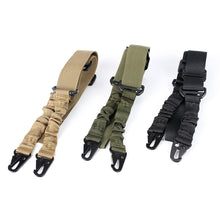Load image into Gallery viewer, ohhunt Nylon Multi-function Adjustable Two Point Tactical Rifle Gun Sling Hunting Gun Strap Outdoor Airsoft Mount Bungee System