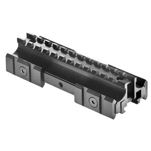 ohhunt Tactical Gun Accessories Full Size Tri-Mount Weaver Style Mounts Conversion With Adjustable Side Tabs AR15 Flat Top Matte