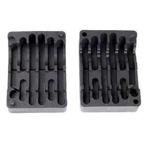 ohhunt Gunsmith AR-15 Armorer's Wrench Tool Kit 5.56 .223 AR-15 M4 M16 Lower & Upper Receiver Vise Block & Wrench Combo Rifle Tool Kit