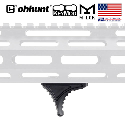 ohhunt Mini Bi-Directional Keymod Hand Stop Barricade Rest HandStop Rail Tactical Hunting Standard Handguard System