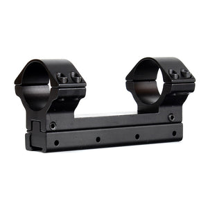 ohhunt Hunting 25.4mm 30mm High Profile 11mm Dovetail Airgun Rings with Windage Elevation Fully Adjustable Scope Mount Ring