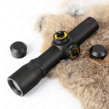Load image into Gallery viewer, ohhunt 4.5x20 1 inch Compact Hunting Rifle Scope Tactical Optical Sight P4 Glass Etched Reticle Riflescope Flip-open Lens Caps