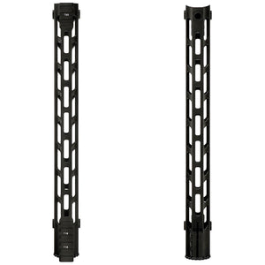 "ohhunt Tactical AR15 Free Float M-LOK Handguard 7"" 9"" 10"" 12"" 13.5"" 15"" Picatinny Weaver Rail Mount with Steel Barrel Nut"