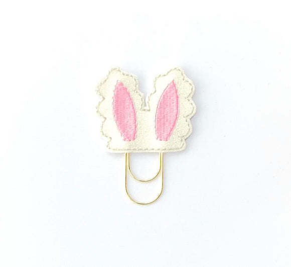 Easter Bunny Ears Paper Clip, Easter Bunny Ears Planner Clip, Easter Bunny Rabbit Paper Clip Planner Decoration (542)