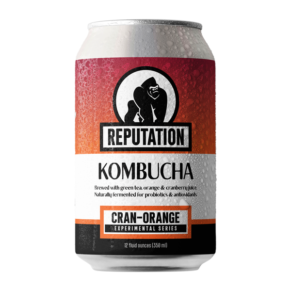 Cran-Orange Kombucha
