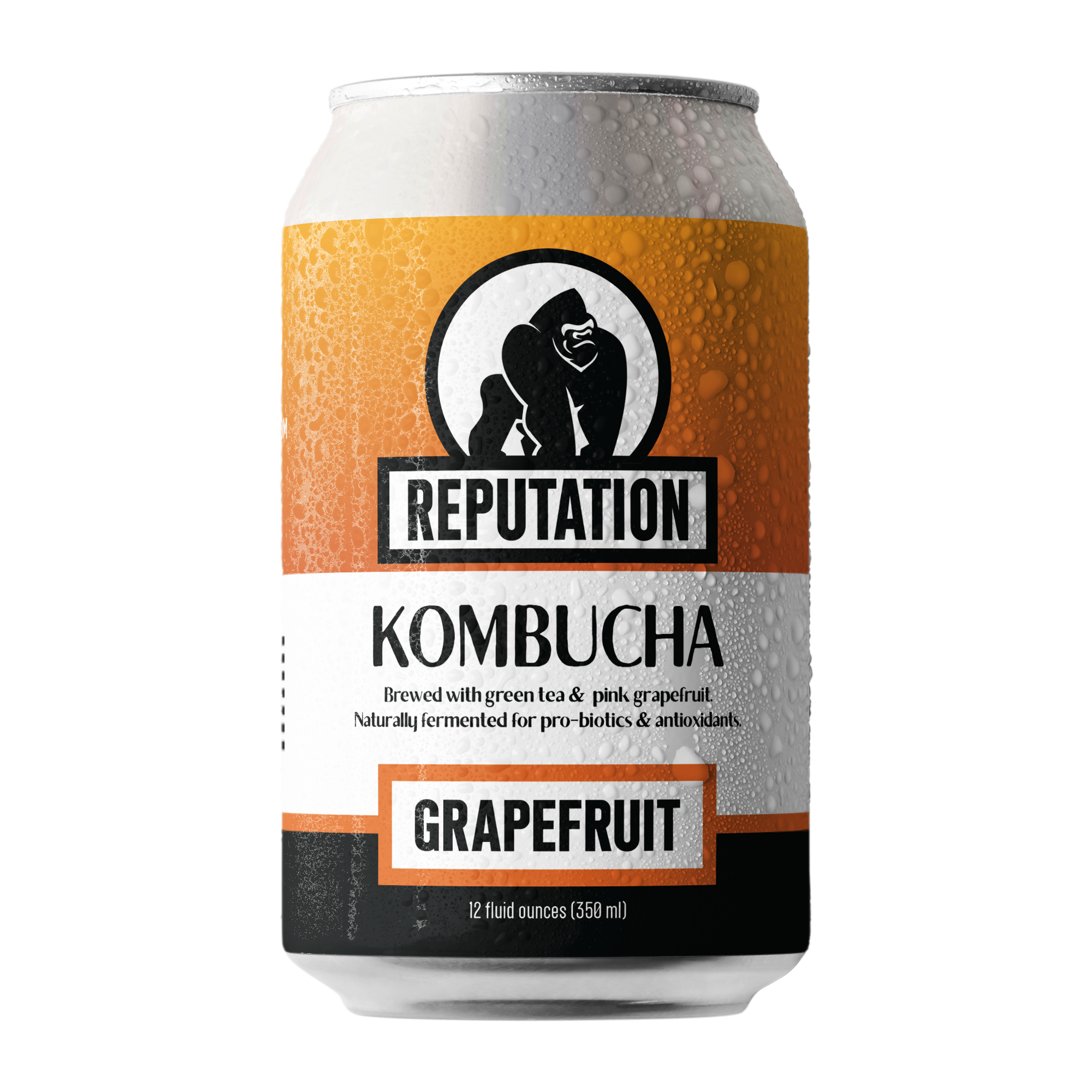 Grapefruit Kombucha