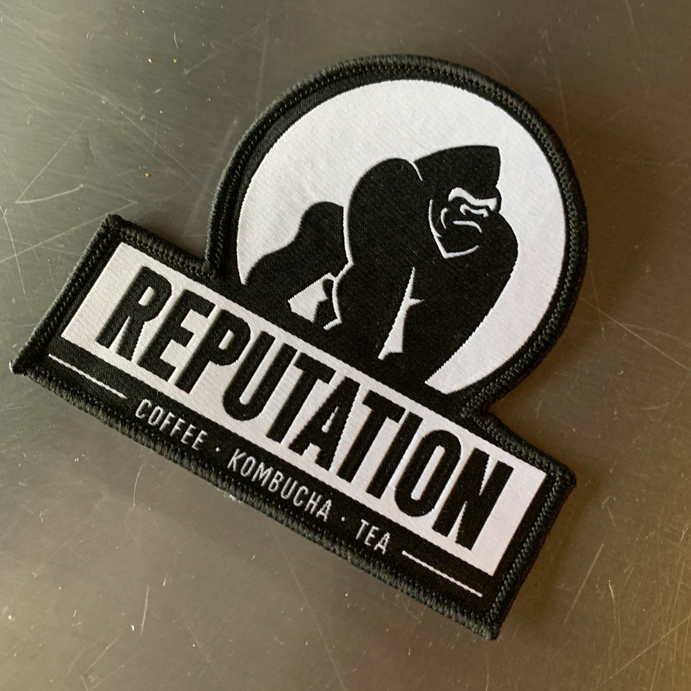 Reputation Iron On Patch