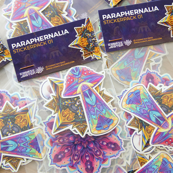Paraphernalia Sticker Pack 01 - Limited!