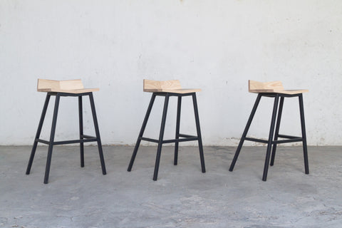 V Stool- Low back