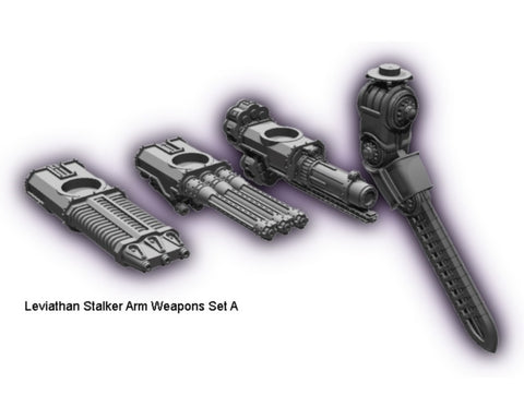 Cybershadows Leviathan Stalker Weapons Set A
