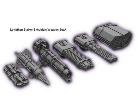 Cybershadows Leviathan Stalker Weapons Set B