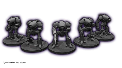 Cybershadows War Stalkers Squadron