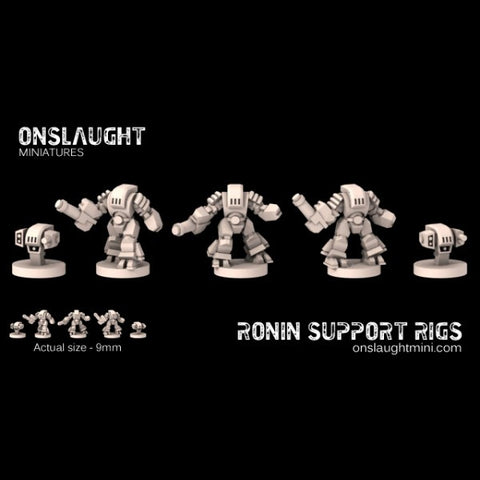 Okami Technocracy Combine Ronin Support Rigs