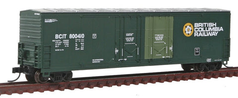Atlas  50001401 Master 53' Evans Box Car British Columbia Railway 800410
