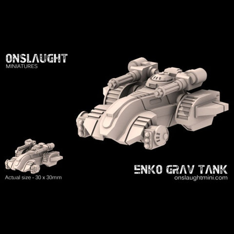 Okami Technocracy Combine Enko Grav Tanks