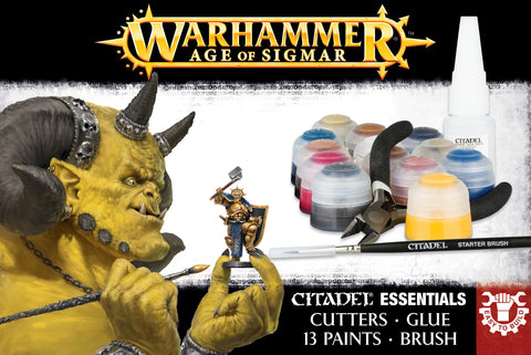 Age Of Sigmar Citadel Essentials Set (English)