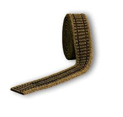 GM210   Ballasted Underlay - OO/HO Scale Brown (Flexible 5m Roll)